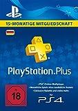 PlayStation Plus Mitgliedschaft 15 Monate [PS4 Download Code - deutsches Konto]