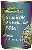 Feinkost Dittmann Artischockenböden natur, mild-würzig 5/7 Stücke, 390 g