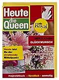 Glückwunschkarte Heute bist Du die Queen Zeitschriftencover