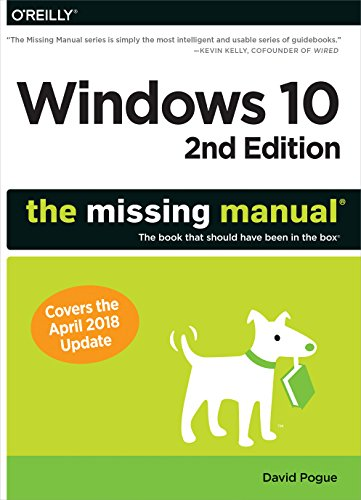 Windows 10: The Missing Manual: The Book That Should Have Been in the Box por David Pogue