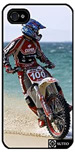 Coque Iphone 5/5S – Moto Cross Beach - ref 129