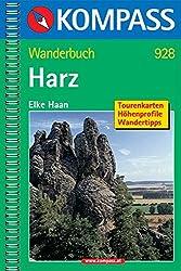 Harz: Wanderbuch mit Tourenkarten, Höhenprofilen und Wandertipps (KOMPASS-Wanderführer)