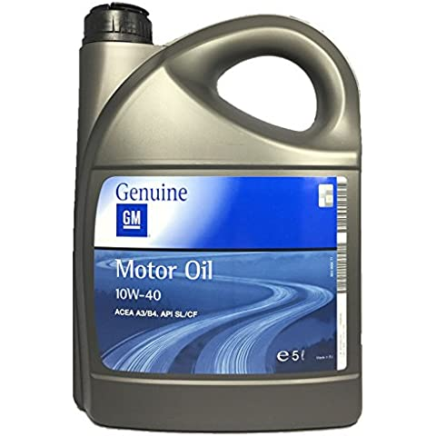 GENUINE GM OPEL MOTOR OIL 10W-40 5L