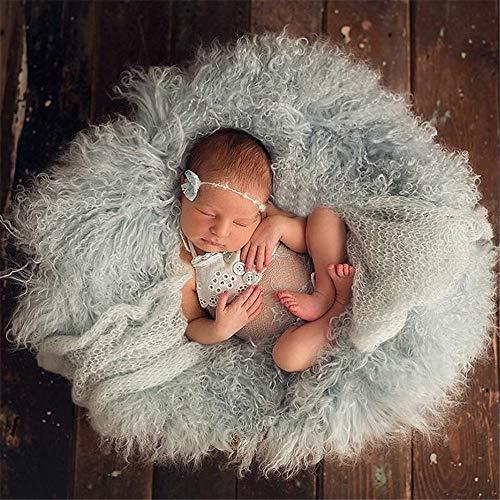 Jungen-Mädchen-Fotografie-Decke Runde fotografische Hintergrund Decke Teppich monatliches Wachstum Foto Mat Dusche Geschenke Korb for Mädchen und Jungen neue Mutter Korb Stuffer Füllstoff Neugeborene