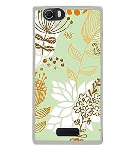 ifasho Designer Phone Back Case Cover Micromax Canvas Nitro 2 E311 ( Pink White Colorful Pattern Design )