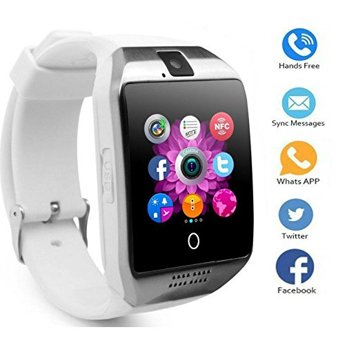 Smart Watch Phone, TKSTAR Touch Screen Q18 Android Smart Watch Smart affari orologio Smart Watch Phone Bluetooth Smart Watch Donna Uomo supporto TF Carta di Sim Smart Watch