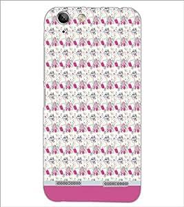 PrintDhaba Pattern D-1666 Back Case Cover for LENOVO VIBE K5 (Multi-Coloured)