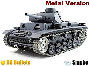 HengLong 1:16 Remote Controlled Tank, Grey