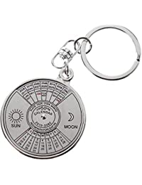 Gratitude 50 Years Calender Keychain / Key Chain / Keyring / Key Ring