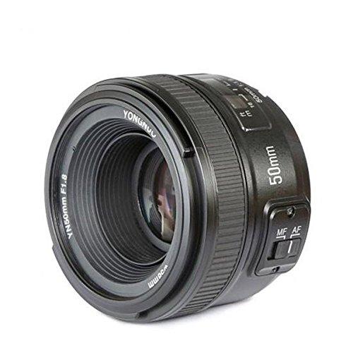 YONGNUO YN50 50mm F1.8 Objektiv AF(Blende F / 1.8) für Nikon AI DSLR-Kamera, Autofokus + NAMVO Diffusor