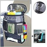 Auto Rücksitz Organizer, Bchoice Multi-Pocket mit Big Storage Bag, Great Car Accessoire für Ihre Reise + Free Car Anti-Rutsch-Matte
