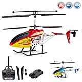 3.5 Kanal 2.4GHz RC ferngesteuerter XL Hubschrauber mit Kamera, Helikopter Modellbau mit 2,4 GHz-Technik, optional mit FPV-Kit Live-Übertragung auf Smartphone erweiterbar, Komplett-Set inkl. Crash-Kit, RTF