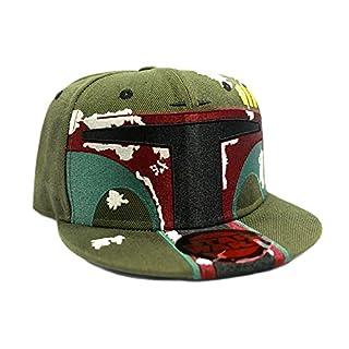 Star Wars Boba Fett Snapback-Cap grün
