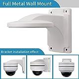Wandhalterung, LEFTEK Full Metal Halterung Outdoor Indoor CCTV Stand Zubehör für LEFTEK Dome PTZ Kamera