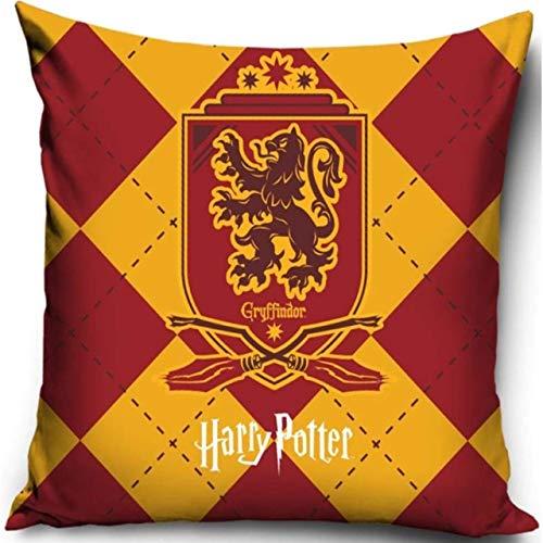 Warner Brother Offizielles Harry Potter Griffinor Kissen, Bedruckt, dekorativer Überwurf, Haus mit Harry Potter (Potter-warner Harry Brothers)