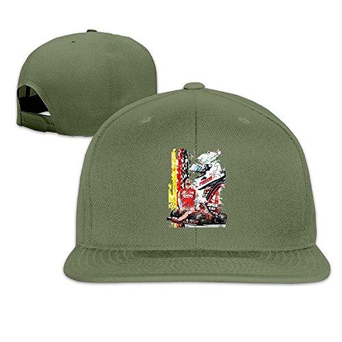 thna-kimi-matias-raikkonen-foto-regolabile-moda-cappello-da-baseball-forestgreen-taglia-unica