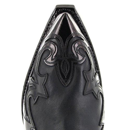 Sendra Boots Stiefel 4660 Westernstiefelette (in verschiedenen Farben) Flo Negro