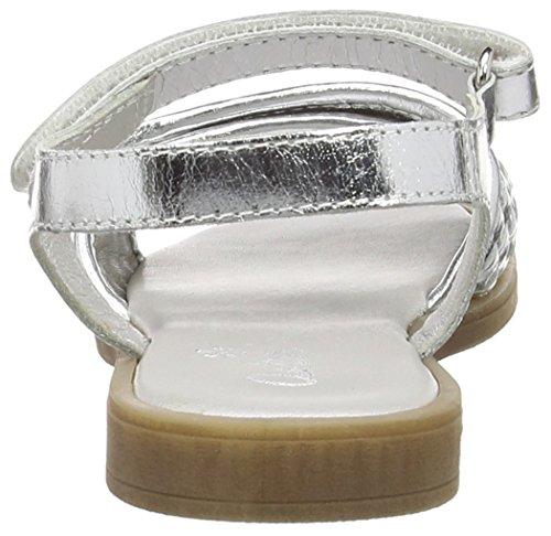 Aster Natiss, Sandales Plateforme fille Argent - Silver (Argent)