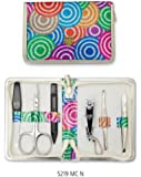 TROIS EPÉES | Kit / set / ensemble / trousse de manicure - manucure - pédicure - beauty / beaute - soins des ongles / personnels / mains / pieds | 6 pièces | marque de qualité (521910)