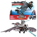 Dragons - Action Spiel Set - Drachen Ohnezahn Titanflügler Toothless Titan Wing