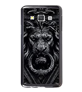 Printvisa Ultra Lion 2D Hard Polycarbonate Designer Back Case Cover for Samsung Galaxy A7