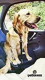 Auto Sicherheitsgurt für Hunde – elastischer Flexi Autogurt Adapter für Hundegeschirr – Verbindungsgurt – Verstellbarer Ruckdämpfer – Sicherheit – Nylon – schwarz – Petloverz - 2