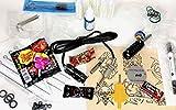 TATTOO Geschenkset für Tätowierer SET - 24 x Tattoobedarf & Süßigkeiten von INKgrafiX® Überraschung WEIHNACHTEN IG40008