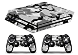 Skin PS4 PRO HD - CAMUFLAJE 1 - limited edition DECAL COVER ADHESIVO playstation 4 SLIM SONY BUNDLE