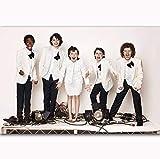 NOVELOVE Cuadro de Arte de pared Movie Series Series Montre Stranger Things Season 1 2 Child Star Posters Imprimer Peinture sur Toile sans Cadre 50 * 70cm