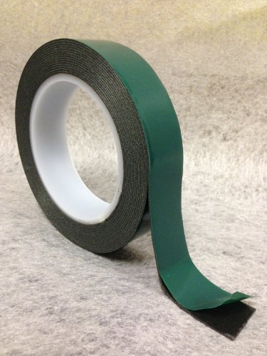 all-trade-direct-2-x-double-sided-tape-black-foam-9mm-x-10m-roll-automotive-grade-green-backing