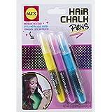 Alex Toys Spa 3 Hair Chalk Pens, Multi Color