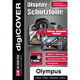 DigiCover B3190 Film de protection d'écran pour Olympus TG-860
