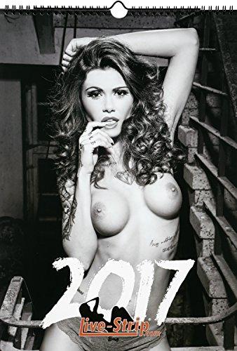 live-strip-calendario-pin-up-2017-pennello-din-a3-nero-bianco-calendario-erotico-calendario-lampada-