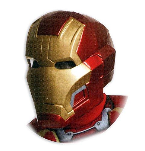 Iron Man 2-tlg. Maske, für (Offizielle Man Kostüm Iron)