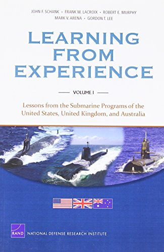 MG-1128/1-Navy Learning from Experience: Vol I: Lessons from the Submarine Programs of the United States, United Kingdom, and Australia (Rand Corporation Monograph)