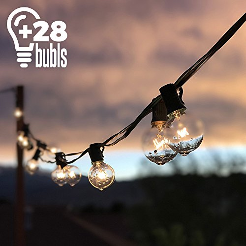 Outdoor String Lights, G40 Outdo...