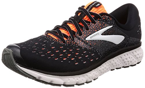 Brooks Glycerin 16, Scarpe da Running Uomo, Multicolore (Black/Orange/Grey 069), 47.5 EU
