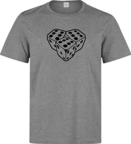 666 dices dope Men's T shirt XX-Large