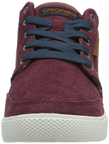JACK & JONES JJ JUNO CASUAL ORG Herren Sneakers Rot (Port Royale)