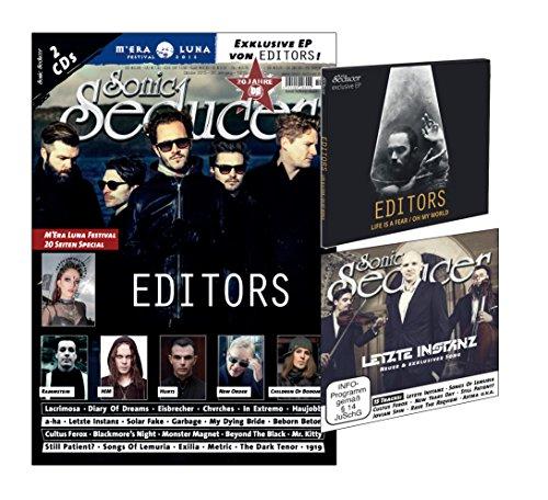 Sonic Seducer 10-2015 mit Editors-Titelstory + 2 CDs, darunter eine exkl. EP zum Editors-Album In Dream + exkl. neuer Song von Letzte Instanz + M'Era Luna Special, Bands: Rammstein, HIM u.v.m.