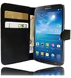 Etui Housse Luxe Portefeuille pour Samsung Galaxy Mega 6.3 + STYLET et 3 FILM OFFERT !