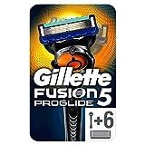Gillette Fusion5 ProGlide Maquinilla de Afeitar con 6 Recambios, Paquete Apto para el Buzón de Correos