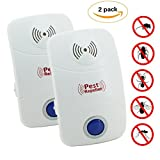 Everteco Ultrasonic Pest Repeller, Electronic Plug In Insect Repellent, Indoor Pest Control - Best Reviews Guide