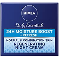 Nivea visage - Crema de noche regeneradora, pack de 3 (3 x 50 ml)