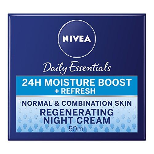 Nivea Visage Regenerating Night Cream - 50 ml, Pack of 3