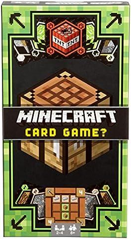 Mattel dng61–Minecraft–Jeu de cartes (Version Anglaise)