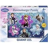 Frozen - Puzzle de suelo, 70 x 50 cm, 24 piezas (Ravensburger 05437 4)