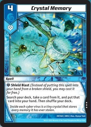 Kaijudo TCG - Crystal Memory (39) - Rise of the Duel Masters by Kaijudo: Rise of the Duel Masters