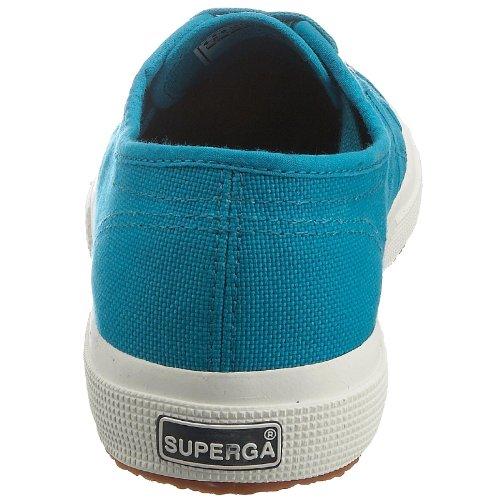 Superga 2750-Jcot Classic Scarpe da Ginnastica, Unisex Bambini Blu (C52 Blue Caribe)
