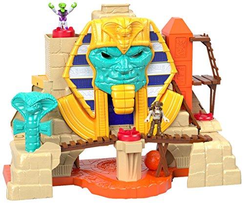Imaginext Fisher-Price Playset Pirámide del Rey Serpiente